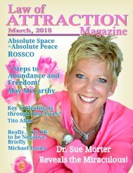 Law of Attraction Magazine, March 2018