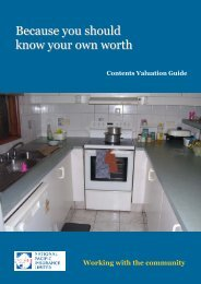 Know Your Own Worth Brochure - National Pacific Insurance