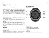 Scwinn GPS Tracking Heart Rate Monitor Manual 110426 - Woot