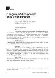 El seguro médico privado en la Unión Europea