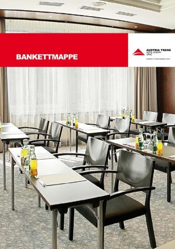 Bankettmappe - Austria Trend Hotels & Resorts