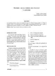 INTERÉS LEGAL: FORMA DE CÁLCULO Y ANÁLISIS - Sistema de ...