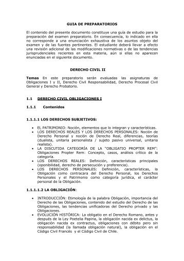 Guia de Preparatorios Civil II _2_ _2 - Universidad del Rosario