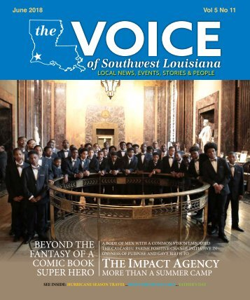The Voice of Southwest Louisiana June 2018 Issue