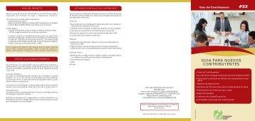 guia para nuevos contribuyentes - Direccion General de Impuestos ...