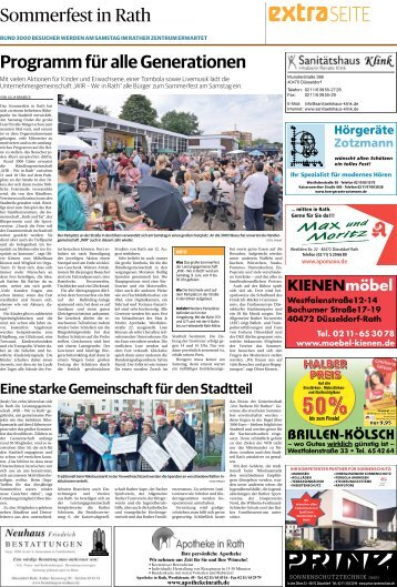Sommerfest in Rath  -07.06.2018-