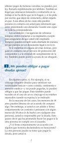 ¿QUÉ PUEDO HACER SI NO PUEDO PAGAR MIS DEUDAS? - Page 4