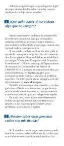 ¿QUÉ PUEDO HACER SI NO PUEDO PAGAR MIS DEUDAS? - Page 5
