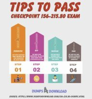 Checkpoint 156-215.80 Dumps - Pass 156-215.80 Exam - Dumps4download.com