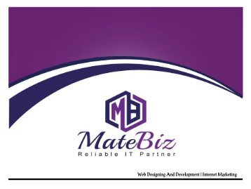 Matebiz Web Design India Best Web Agency