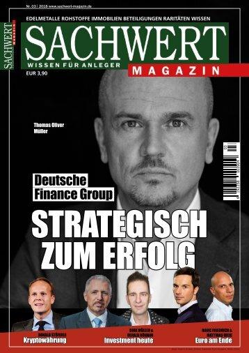 Sachwert Magazin 3/2018