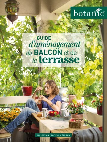 Botanic catalogue PRINTEMPS-ÉTÉ 2018