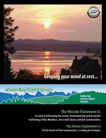 AGM 2012.pdf - Union Bay Credit Union
