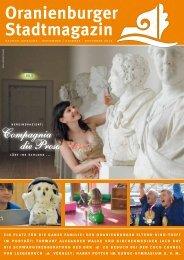 Oranienburger Stadtmagazin - Dakapo Pressebüro