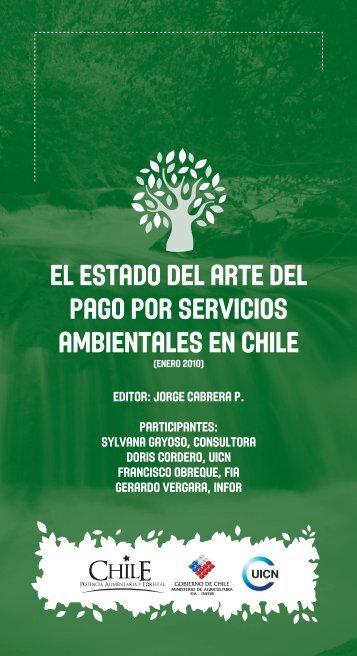 el estado del arte del pago por servicios ambientales en chile - IUCN