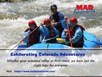 Rafting in Colorado | MAD Adventures