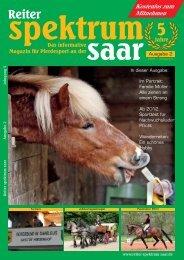 Reiter Spektrum Saar Ausgabe 2-2012