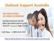 Outlook Support Australia07-06
