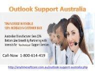 Outlook Support Australia1-800-614-419 |Solve Solution