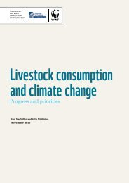Livestock consumption and climate change - Food Ethics Council
