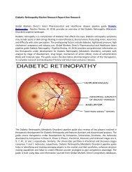 Diabetic Retinopathy Market Growth Analysis-Ken Research