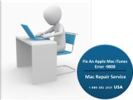 Fix An Apple Mac iTunes Error -9808