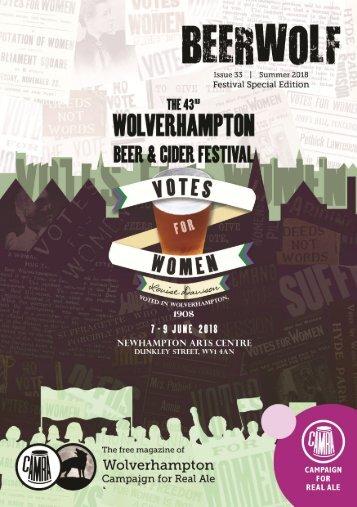 Wolverhampton CAMRA Beerwolf Summer 2018
