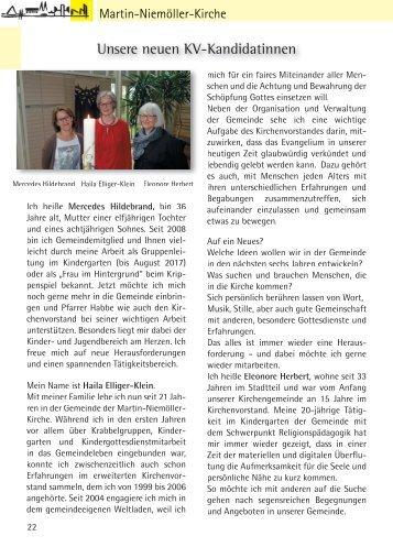 Gemeindebriefseiten MNK Juli 2018