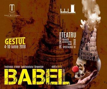 Caiet Babel 2018