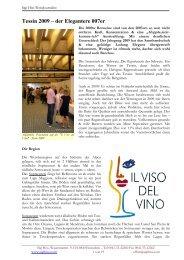 Tessin 2009 - Wein-News SigiHiss