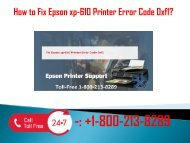 +1-800-213-8289 Fix Epson xp-610 Printer Error Code 0xf1