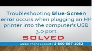 How To Fix HP Printer Error Code 3.0? 1-800-597-1052