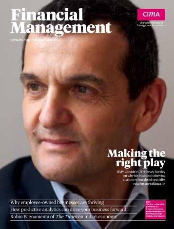3% 59% - CIMA Financial Management Magazine