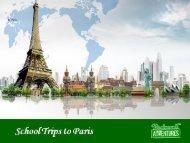 School Trips to Paris Book on Rocknrolladventures.com