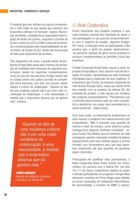 Revista Mais Sebrae - Maio 2018
