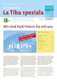 La Tiba speziala - Parc Ela