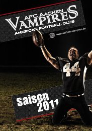 Download Saisonheft 2011 - Aachen Vampires