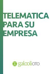 Telematics for your business [Spanish]