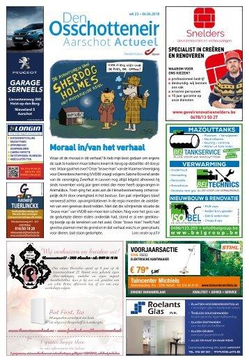 1823 Aarschot Actueel 6 juni 2018 - week 23