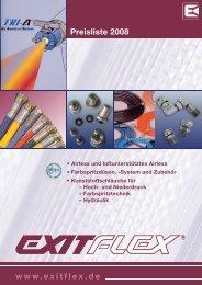 Preisliste 2008 www.exitflex.de - EXITFLEX GmbH