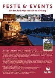 Rud-Alpe_Hochzeit und Feste feiern