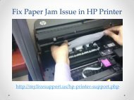 Dial 1-800-462-5143 Fix Paper Jam Issues in HP Printer