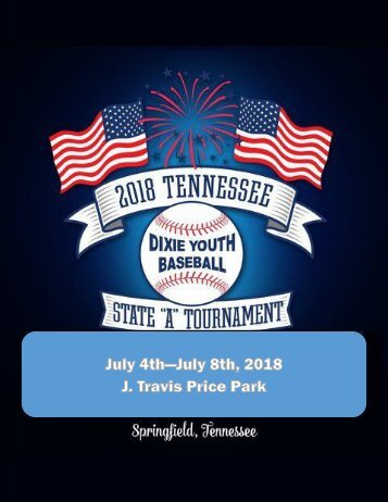 "2018 Tennessee State ""A"" Tournament Book Final"
