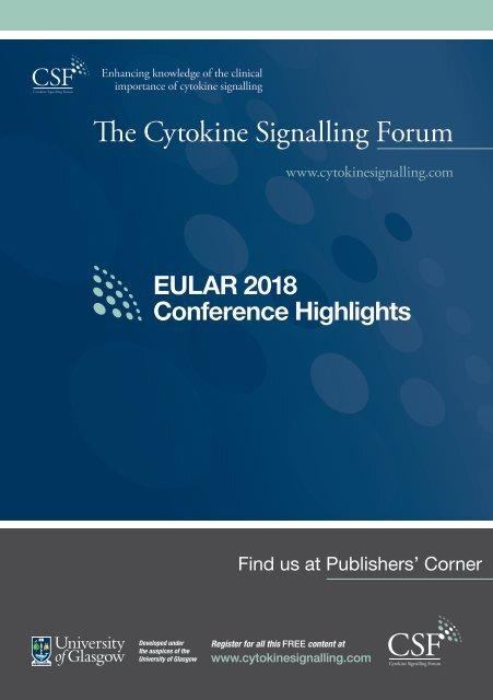 EULAR 2018 Highlights