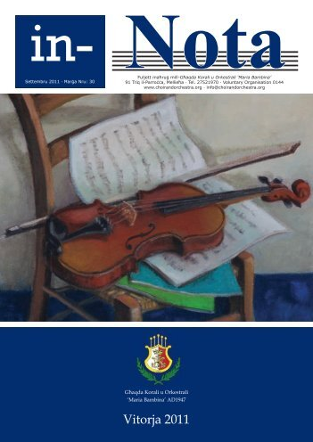 Michael Bonanno - Choral and Orchestral Society