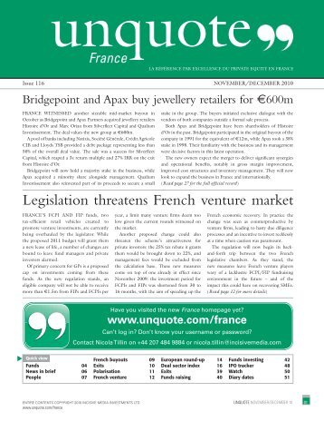 """latest digital edition of France unquote"""" now"""