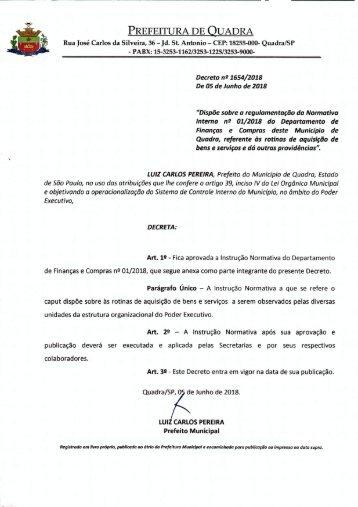 01 Decreto n° 1654-2018