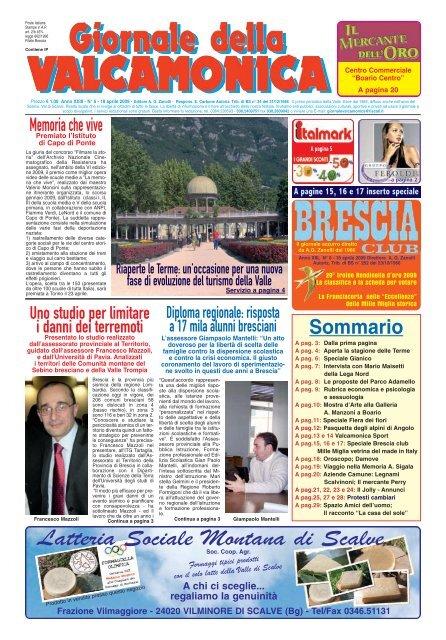 GdV N° 06 del 2009 Il Giornale della Valcamonica