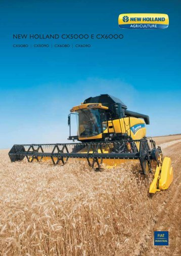 NEW HOLLAND CX5OOO E CX6OOO