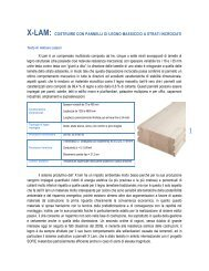 x-lam: costruire con pannelli di legno massiccio a ... - Asp Energia